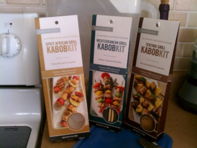 Urban Accents Kabob Kits